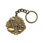 Music Key Chain Medals