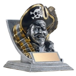 Pirate/Buccaneer Mascot Trophies