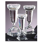 Flute Shaped Crystal Bowl Trophies
