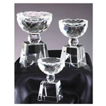 Crystal Bowl Shaped Trophies