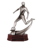 Soccer Mercury Trophies