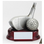 Silver Golf Driver Trophies