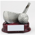 Golf Silver Wedge Trophies