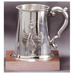 Golf Themed Pewter Mug Trophies