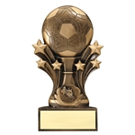 Soccer Star Burst Trophies
