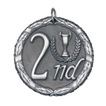 2nd Place Silver XR Medals