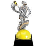 Female Lacrosse Motion Extreme Trophies