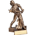 Female Softball Super Star Trophies