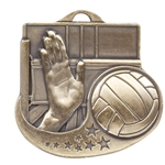 Volleyball Star Blast Medals