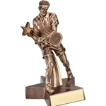 Male Tennis Super Star Trophies