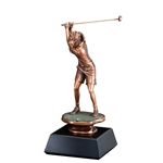 Female Golf Gallery Trophies