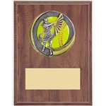 Female Softball Motion Extreme Plaques