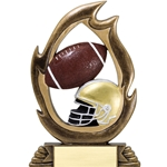 Football Flame Trophies
