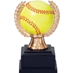 Softball Wreath Sports Ball Trophies