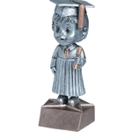 Graduate Male Bobblehead Trophies