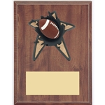 Football Blowout Plaques