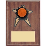 Basketball Blowout Plaques
