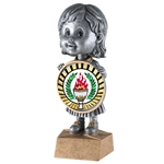 Female Victory Bobblehead Trophy