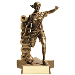Soccer Female Billboard Trophies