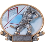 Male Hockey 3D Trophies