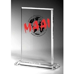 Fortitude Rectangular Acrylic Awards