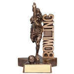 Bowling Female Billboard Trophies