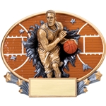 Basketball Male XPlosion Oval Trophies