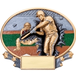 Baseball Male XPlosion Oval Trophies