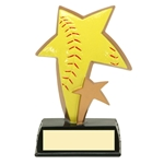 Softball Sports Star Trophies