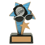Swimming Sports Star Trophies