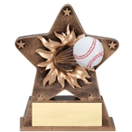 Baseball Starburst Trophies