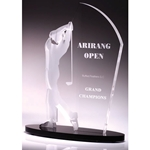 Golf Male Acrylic Awards
