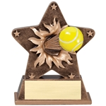 Tennis Starburst Trophies