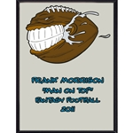 Football Face Plaque