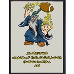 Wizard Of The League Award Plaque