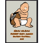 Biggest Baby Award Plaque