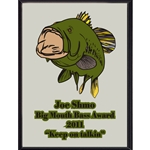 Big Mouth Bass Award Plaque