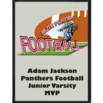 Football Elite Player Plaque