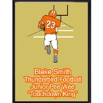 Touchdown Football Plaque