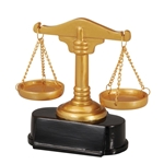 Scales of Justice Trophy