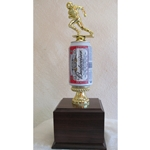 Fantasy Football Beer Can Trophies