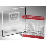 Square Paperweight Acrylic Awards