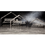 Peak Paperweight Acrylic Awards