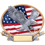 Patriotic Eagle 3D Trophies