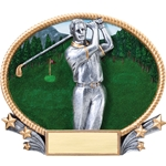 Golf Male 3D Trophies