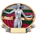 Track Female 3D Trophies