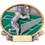 Tennis Male 3D Trophies