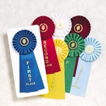 Large Rosette Ribbons