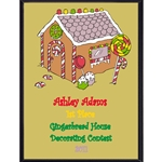 Gingerbread House Plaques