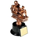 Fantasy Football Armchair Quarterback Trophy